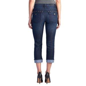 Rock & Republic Kendall Studded Capri Ankle Jeans